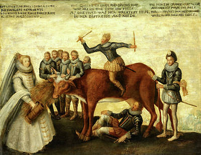 Photograph - The Milch Cow - 1583 by Doc Braham