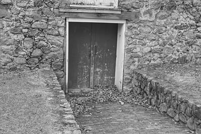 Photograph - The Mill Door - Waterloo Village by Christopher Lotito