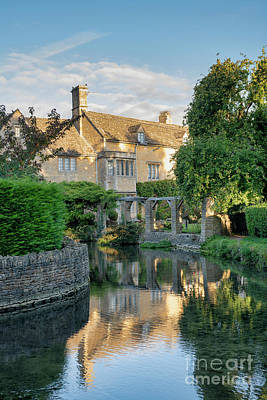 Photograph - The Mill House In Bourton On The Water by Tim Gainey
