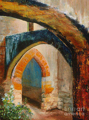 Painting - The Mission by Donna Hall