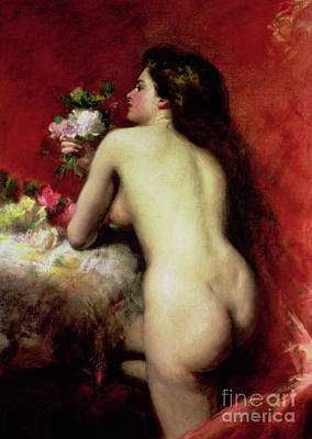 Painting - The Model, 1905 by Charles Emile Auguste Carolus-Duran