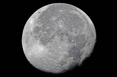 Photograph - The Moon by Glenn Bartley
