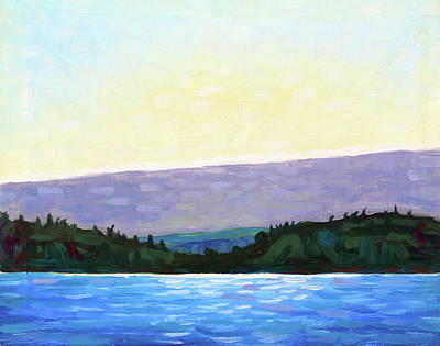 Painting - The Morning Cloud - Tom Thomson by Phil Chadwick