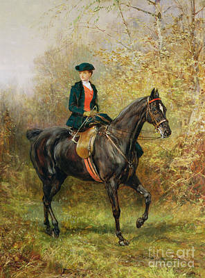Painting - The Morning Ride, 1891 by Heywood Hardy