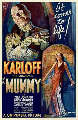 Painting - The Mummy 1932 Film by Unknown