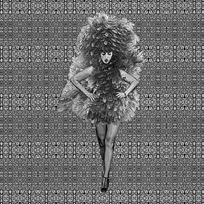Digital Art - The Muse by Diego Taborda