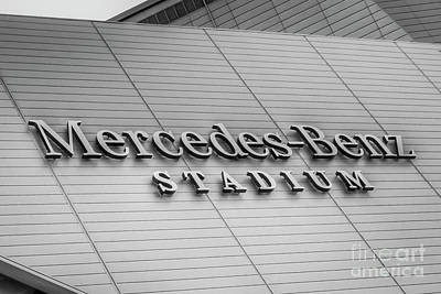 Photograph - The Name Says It All Mercedes- Benz Stadium Atlanta N F L Super Bowl 2019 Art by Reid Callaway