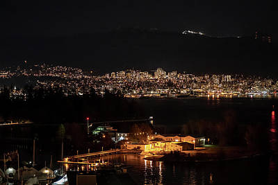 Photograph - The North Shore By Night by Ross G Strachan