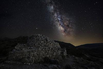 Photograph - The Nurashe Of Ardasai Under The Stars by Daniele Fanni