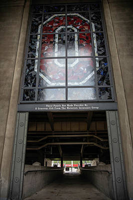 Photograph - The O And Ecntrance At The Ohio State University by John McGraw