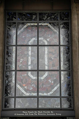 Photograph - The O At The Ohio State University by John McGraw
