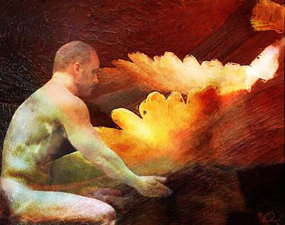 Digital Art - The Offering by David Derr