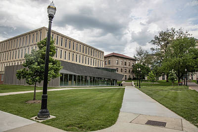 Photograph - The Ohio State University Campus  by John McGraw