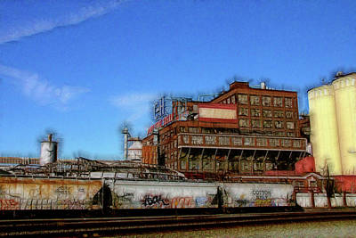 Photograph - The Old C And H Pure Cane Sugar Plant In Crockett California by Doc Braham