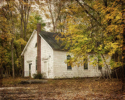 Photograph - The Old Church by Cathy Kovarik