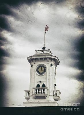 The Old Clocktower  Art Print by Steven Digman