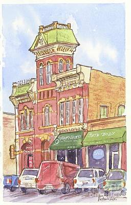 The Old Fire House Art Print