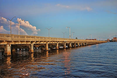 Photograph - The Old Green Bridge by HH Photography of Florida