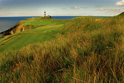 Scenic Photograph - The Old Head Golf Links, Kinsale by E J Carr