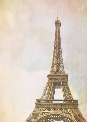 Photograph - The Old Lady Of Paris by JAMART Photography