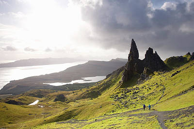 Photograph - The Old Man Of Storr Towering Above by David C Tomlinson
