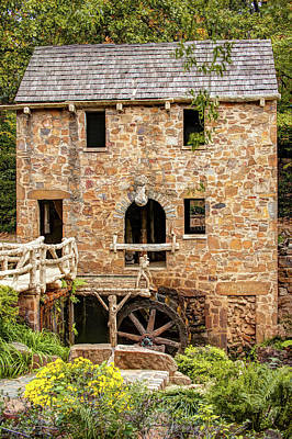 Photograph - The Old Mill In North Little Rock Arkansas by Gregory Ballos