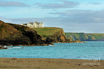 Photograph - The Old Poldhu Hotel, Lizard, Cornwall by Terri Waters