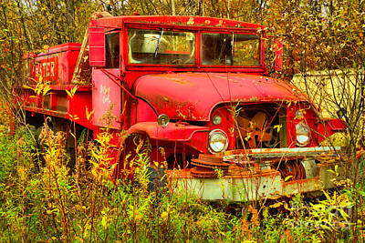 Photograph - The Old Water Tanker by Adam Jewell