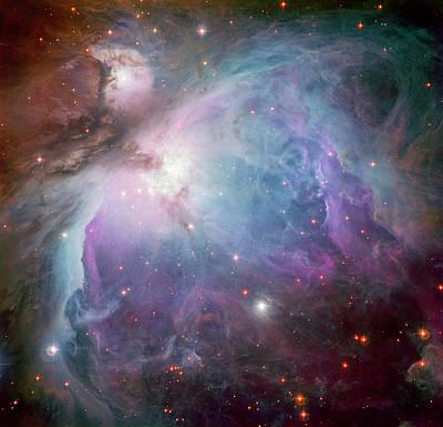 Photograph - The Orion Nebula by Adam Romanowicz