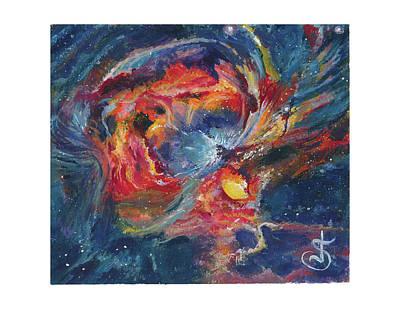 Painting - The Orion Nebula by Jeremiah Skurtu