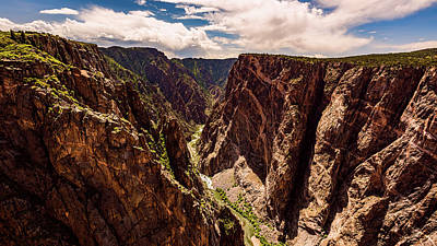 Photograph - The Painted Wall Of Black Canyon Of The Gunnison by Brenda Jacobs