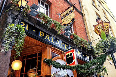 Photograph - The Palace Bar Dublin by John Rizzuto