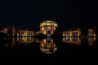 Photograph - The Palace Of Fine Arts by Philip Rodgers