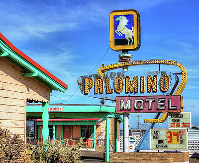 Photograph - The Palomino Motel by JC Findley