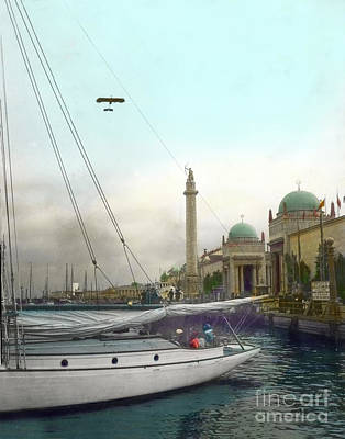 Photograph - The Panama Pacific International Exposition,  San Francisco 1915 by California Views Archives Mr Pat Hathaway Archives