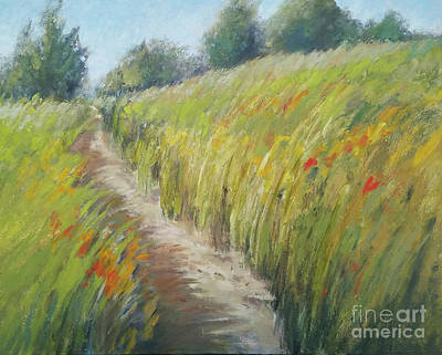 Painting - The Path by Mary Hubley