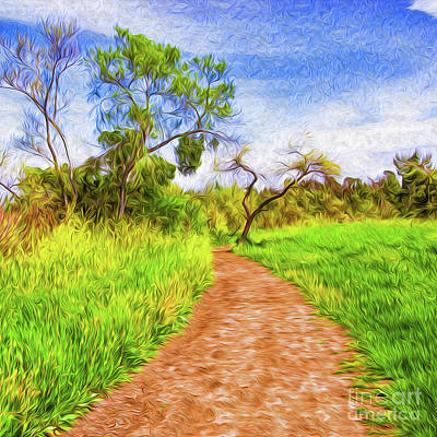 Digital Art - The Path That Lies Ahead by Kenneth Montgomery
