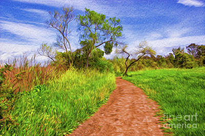 Digital Art - The Path That Lies Ahead II by Kenneth Montgomery
