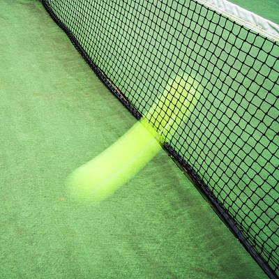 City Lights - The Phantom Tennis Serve by Gary Slawsky