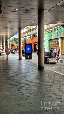 Photograph - The Piano  Player At Liverpool One by Joan-Violet Stretch