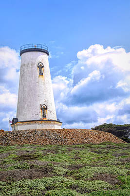 Photograph - The Piedras Blancas Lighthouse Clouds 2 by Floyd Snyder