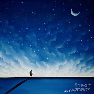 Pastel - The Pilgrim by Chris Mackie