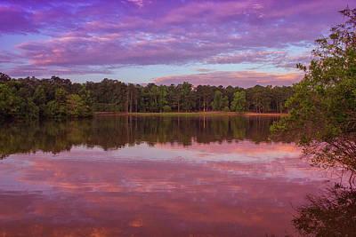 Photograph - The Pink Morning Sunrise by Thomas Vasas