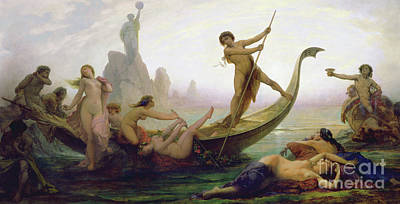 Painting - The Pitfalls Of Life by Auguste Barthelemy Glaize