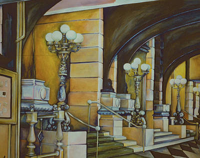Wall Art - Painting - The Plaza Hotel, New York City by Gaye Elise Beda