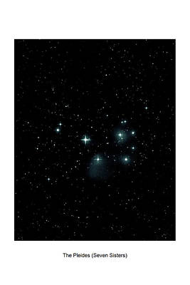 Photograph - The Pleiades I by Lon Dittrick
