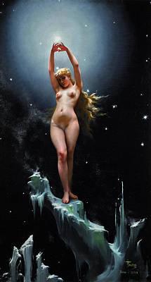 Painting - The Pole Star by Luis Ricardo Falero