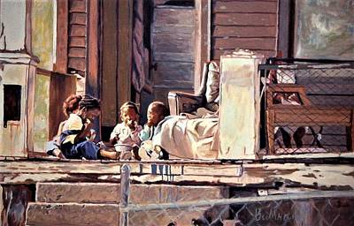 Painting - The Poor Side Of Town by David Buttram