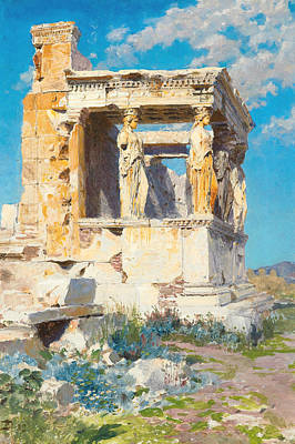 Painting - The Porch Of Caryatids by Vasily Polenov