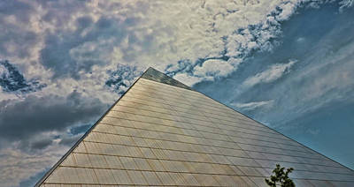 Photograph - The Pyramid - Memphis by Allen Beatty